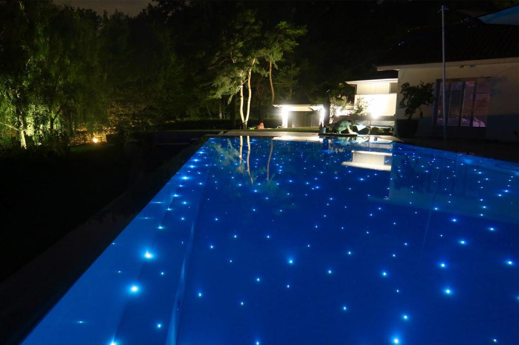 Fibre optique piscine